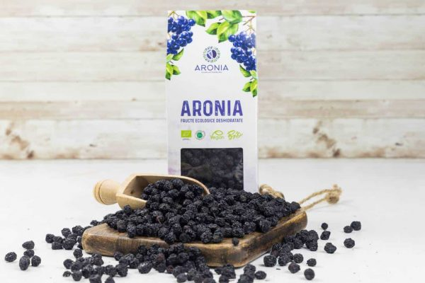Fructe Uscate de Aronia Bio 200G