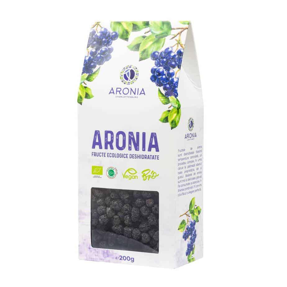 Fructe Uscate de Aronia Bio 200G (RO-ECO-18) imagine produs 2021 aronia-charlottenburg.ro