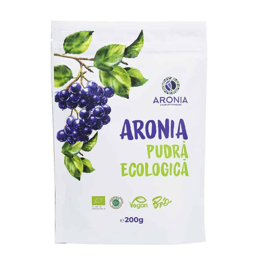 Pudra Aronia Ecologica 200G (RO-ECO-18) imagine produs 2021 aronia-charlottenburg.ro