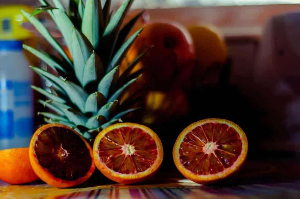 portocale roșii