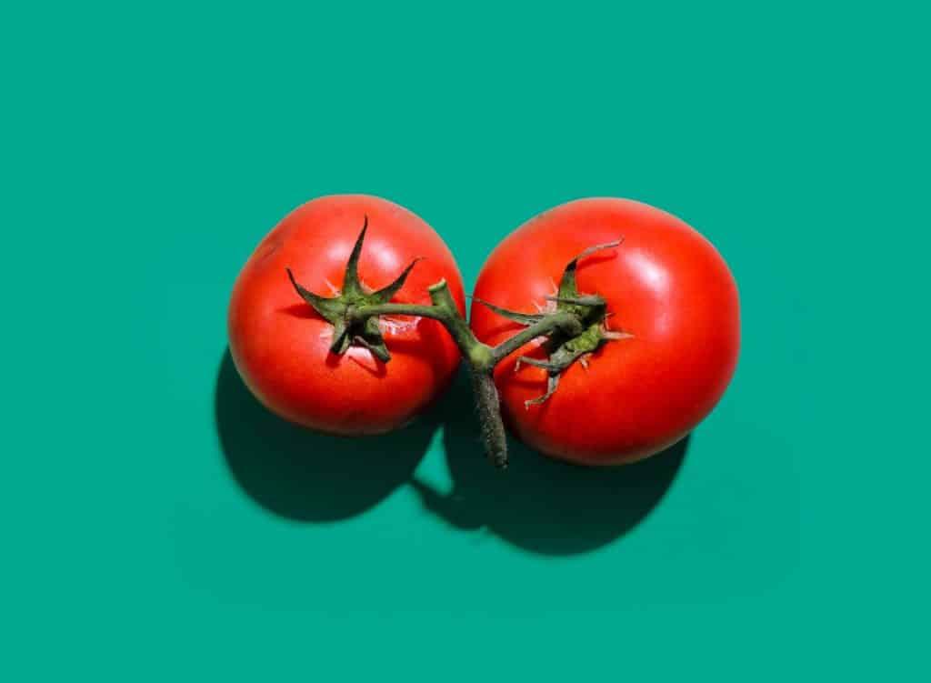 roșia este fruct